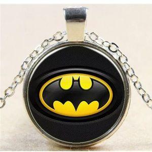 Jewelry - Silver Batman necklace